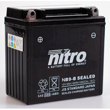 NITRO Batterie sans entretien YB9-B SEALED