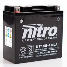 Gesloten batterij onderhoudsvrij YT14B-4