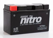 Gesloten batterij onderhoudsvrij YT7B-4