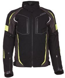 Fuego jacket Zwart / fluo geel Heren