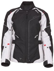 MODEKA Scarlett Lady jacket Zwart-Licht Grijs