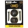 AFAM Outil pour riveter les chaînes moto EASY RIV 5
