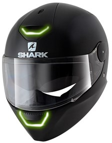 SHARK Skwal Blank Mat zwart KMA