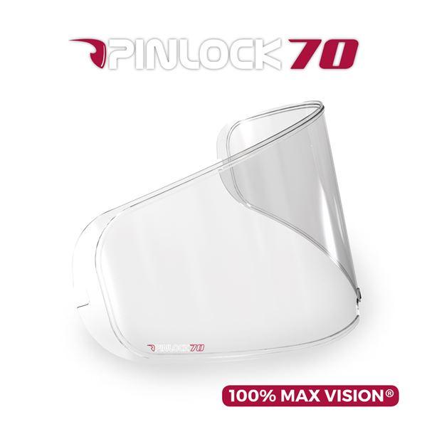 HJC Lentille Pinlock DKS096  pour HJ-25 clair