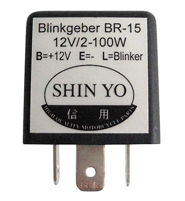 SHIN YO Elektronisch knipperlichtrelais 208-020