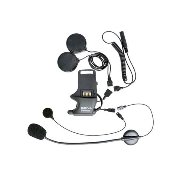 SENA SMH10 audiokit hybride/draadmicro + speakers + mini-jack