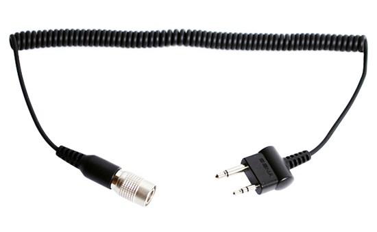 SENA SR10 radiokabel Rechte Midland/Icom twin-pin