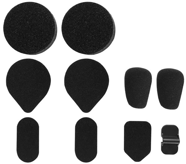 SENA SMH5 covers en velcro's SMH5A0202