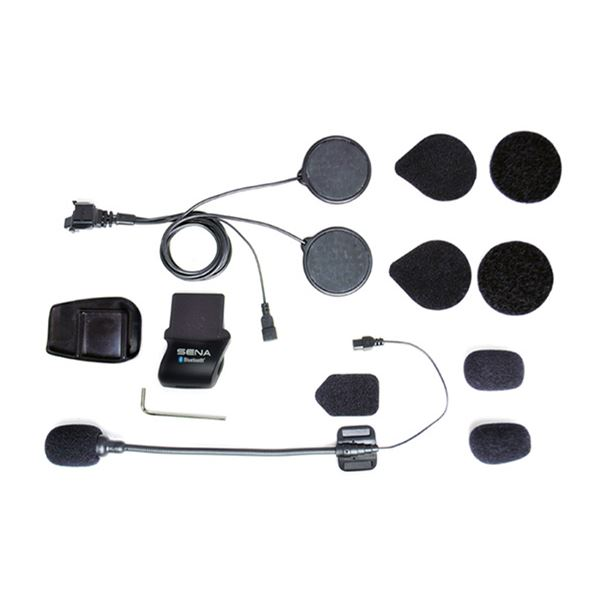 SENA SMH5 kit audio micro perche + haut-parleurs à verrou