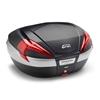 GIVI V56 Maxia 4 topkoffer rode reflectoren, carbon afwerking