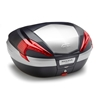 GIVI V56 Maxia 4 topkoffer rode reflectoren, aluminium afwerking