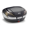 GIVI V56 Maxia 4 topkoffer fumé reflectoren, carbon afwerking