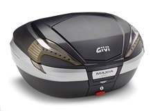 GIVI V56 Maxia 4 top case reflecteurs fumés, finition carbon