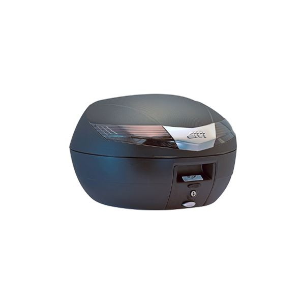 GIVI V40 topkoffer fumé reflectoren, zwarte cover