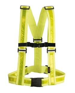 HEVIK : baudrier réfléchissant jaune fluo - HAC213R