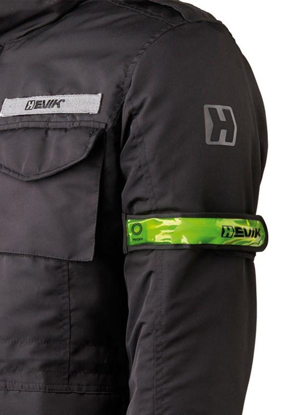 HEVIK Sangle de bras réfléchissante avec LED HGB01