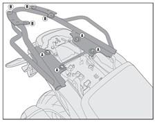 GIVI Support topcase monolock et monokey - SR SR1139