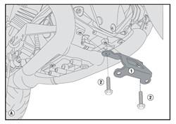 GIVI : Kit de fixation carter - Kit viserie RP5117
