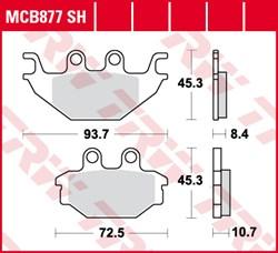 TRW Plaquettes de frein SV/SH