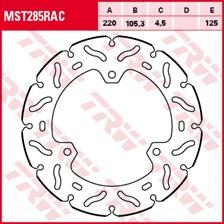 TRW MST disque fixe avec RAC design MST285RAC