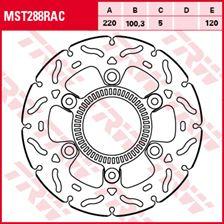 TRW MST disque fixe avec RAC design MST288RAC