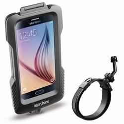 INTERPHONE : Samsung S6/S7 houder - guidon non tubulair
