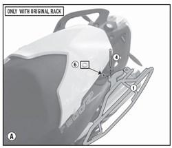GIVI Zijtasbeugels met easy lock bevestiging