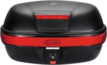 GIVI E460 topkoffer rode reflectoren