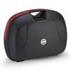 GIVI E360 top case ou valise reflecteurs rouges