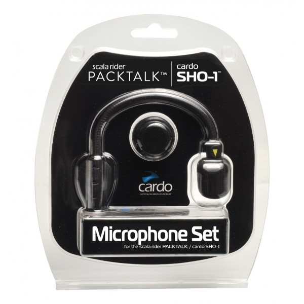 CARDO set de micros SHO-1/Packtalk(Bold, Slim)/Freecom