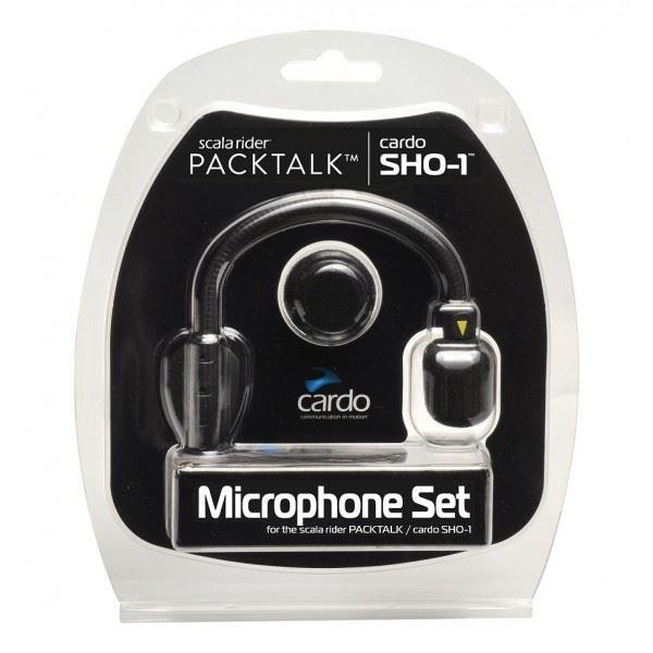 CARDO Microfoon set SHO-1/Packtalk(Bold, Slim)/Freecom