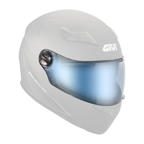 GIVI Vizier H50.4  blauw spiegel