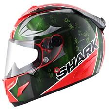 SHARK RACE-R Pro Sykes Rood-Groen-Chroom RGU