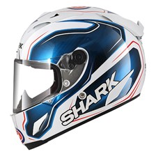 SHARK RACE-R Pro Guintoli Wit-Blauw-Zwart WBK