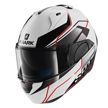 SHARK Evo-One Krono Blanc-Noir-Rouge WKR