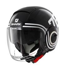 SHARK Nano 72 Zwart-Blauw-Wit KBW
