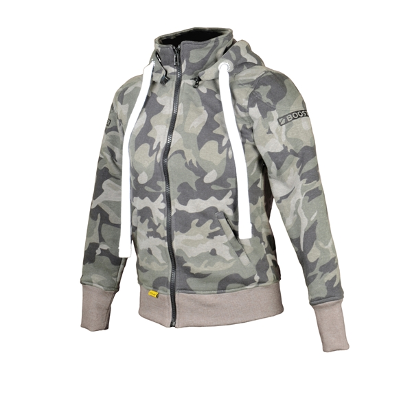 BOOSTER Hoodie Kevlar Core Lady Camo