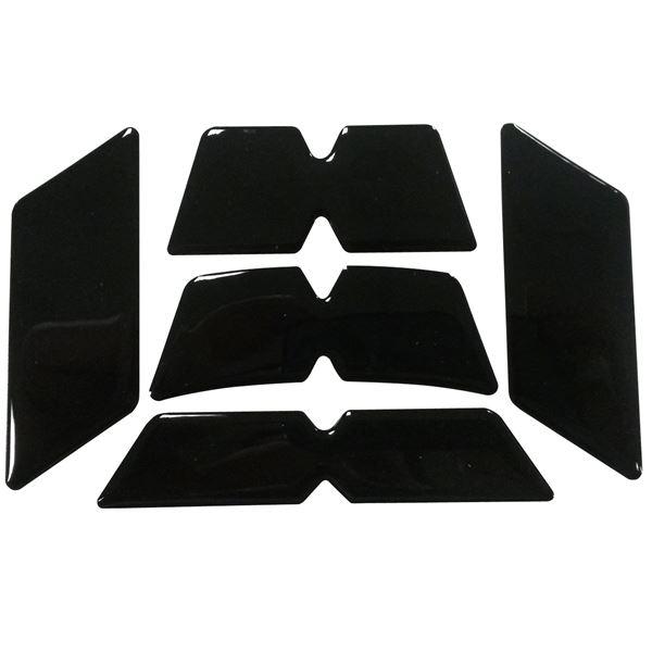 BOOSTER Kit autocollant réfléchissant casque noir