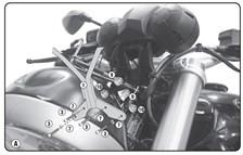 GIVI Kit de montage pour bulle A5115A