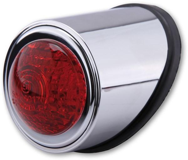 SHIN YO Old school typ 1 Chroom behuizing met rode lens