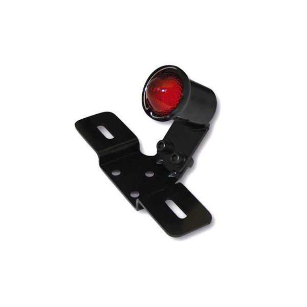 SHIN YO Old school typ 3 Zwarte behuizing met rode lens