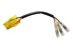 SHIN YO : Cable adaptateur feu arrière - Culot d'ampoule W3x16Q