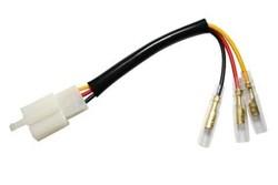 SHIN YO : Cable adaptateur feu arrière - Honda / Kawasaki