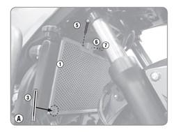 GIVI Protection de radiateur