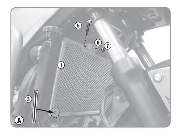 GIVI Radiatorbescherming PR1146