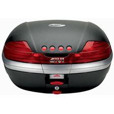 GIVI V46 topkoffer rode reflectoren, zwarte cover