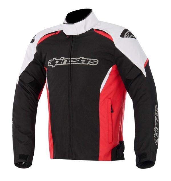 ALPINESTARS Gunner Jacket Noir-Blanc-Rouge