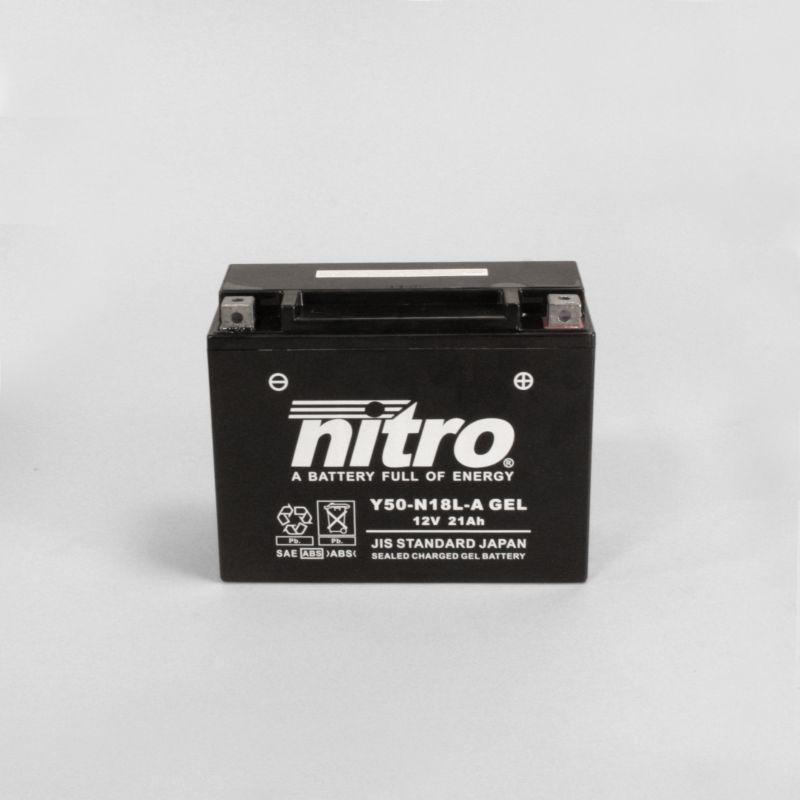 nitro batterie ferm e sans entretien y50 n18l a gel rad eu. Black Bedroom Furniture Sets. Home Design Ideas