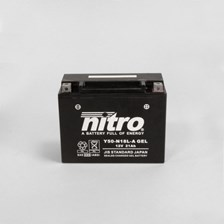 NITRO Gesloten batterij onderhoudsvrij Y50-N18L-A-GEL