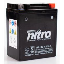 NITRO Batterie fermée sans entretien YB14L-A2-GEL